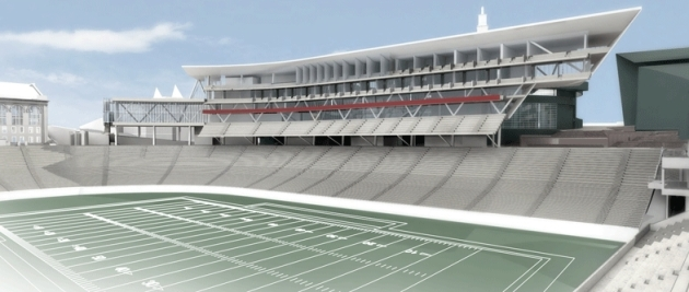Nippert Stadium Rendering